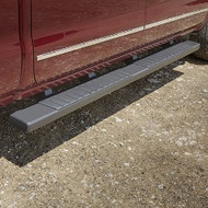 Assist Steps - 6-Inch Rectangular, Black, For Use on Extended Cab Models with Gas Engine (LV3, L83, L86, LC8, and L96)