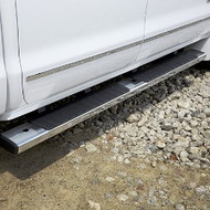 Assist Steps - 6-Inch Rectangular, Chrome, For Use on Extended Cab Models with Gas Engine (LV3, L83, L86, LC8, and L96)