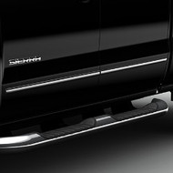 Bodyside Molding Package - For Use on Extended Cabs, Chrome