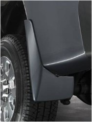 Splash Guards - Molded Rear Set, Black (GBA)