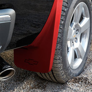Splash Guards - Molded Rear Set, Red (GCN)