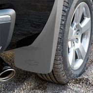 Splash Guards - Molded Rear Set, Silver (GAN)