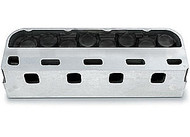 Splayed-Valve 4.500 Bore Center Aluminum Cylinder Head Cubed