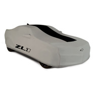 Vehicle Cover - Outdoor - Gray with ZL1 Logo - For Use on Convertible Models