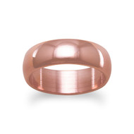 6mm Solid Copper Ring