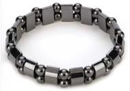 Magnetic Hematite Black Pearl Bracelet