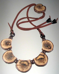 Dance with Druids Wooden Necklace