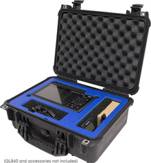 GL840 Series Pelican Case with Custom Foam Inserts
