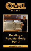 Building a Roadster Body, Part 3: Making the Doors (Blu-ray)