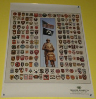 All Airborne Patches Poster