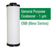OM0125X - Grade X - General Purpose Coalescer - 1 um (04E.0750.PF/F0125PF)