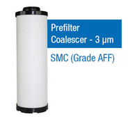 SMC550P - Grade P - Prefilter Coalescer - 3 um (AFF-EL22B/AFF22B-10D-T)