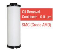 SMC550Y - Grade Y - Oil Removal Coalescer - 0.01 um (AMD-EL550/AMD550-10D-T)