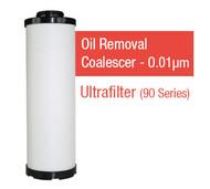 UF2030Y - Grade Y - Oil Removal Coalescer - 0.01 um (SMF20/30/AG0144SMF)