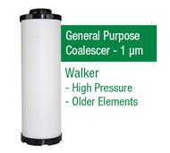 WF51X - Grade X - General Purpose Coalescer - 1 um (E51X1/A38X1)