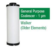 WF125X - Grade X - General Purpose Coalescer - 1 um (E125X1/A201X1)