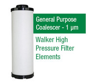 WF715X - Grade X - General Purpose Coalescer - 1 um (E715X1/C75X1)
