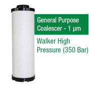 WFHP371X - Grade X - General Purpose Coalescer - 1 um (HP371X1/350HP26X1)