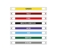 Pipe Markers Self-Adhesive 30 x 380 mm