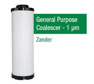 ZA2050X - Grade X - General Purpose Coalescer - 1 um (2050Z/G13ZD)