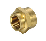 Brass Fitting - Hex Reducing Socket