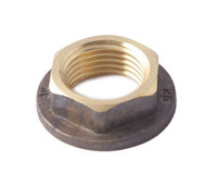 Brass Fitting - Back Nut Flanged