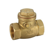 Brass Fitting - Swing Check Valve