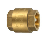 Brass Fitting - Spring Check Valve