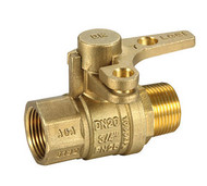 Ball Valve  AGA / Watermark Dual Approved with Brass BRH lockable handle
