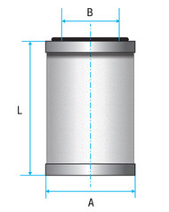 Vacuum Separators Elements (Alternative Leybold)