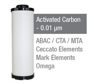 CE06050A  - Grade A - Activated Carbon Element - 0.01 um