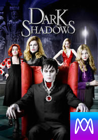 Dark Shadows - Vudu HD or iTunes HD via MA (Digital Code)