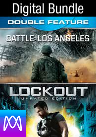 Battle: Los Angeles & Lockout: Bundle - Vudu HD or iTunes HD via MA (Digital Code) PLEASE READ INSTRUCTIONS