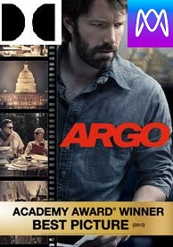 Argo - Vudu HD or iTunes HD via MA (Digital Code)
