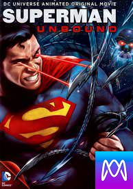 Superman: Unbound - Vudu HD or iTunes HD via MA (Digital Code)