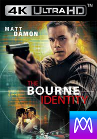 Bourne Identity - iTunes 4K (Digital Code)