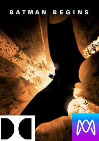 Batman Begins - Vudu HD or iTunes HD via MA (Digital Code)