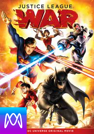 Justice League: War - Vudu HD or iTunes HD via MA (Digital Code)