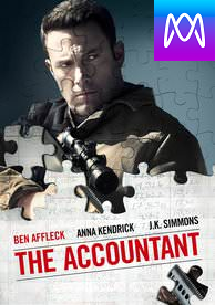 The Accountant - Vudu HD or iTunes HD via MA (Digital Code)