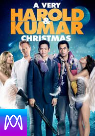 A Very Harold and Kumar Christmas - Vudu HD or iTunes HD via MA (Digital Code)