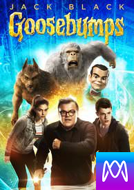 Goosebumps - Vudu HD or iTunes HD via MA (Digital Code)