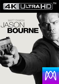 Jason Bourne - Vudu 4K - (Digital Code)