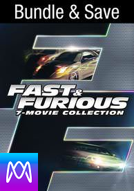 Fast and the Furious 7-Movie Colletion - Vudu HD (Digital Code)