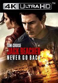 Jack Reacher: Never Go Back - iTunes 4K (Digital Code)