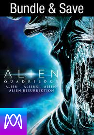 Alien Quadrilogy - Vudu SD or iTunes SD via MA (Digital Code)