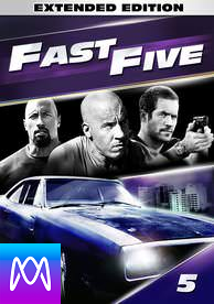 Fast Five: Extended Edition - Vudu HD (Digital Code)