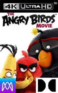 Angry Birds Movie - Vudu 4K or iTunes 4K via MA (Digital Code) - Please Read Description