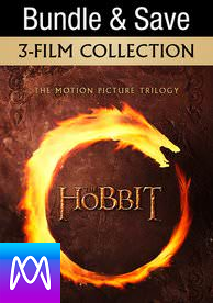The Hobbit Trilogy - Vudu HD or iTunes HD via MA (Digital Code)