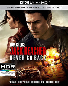 Jack Reacher: Never Go Back - 4K UHD (Digital Code) - Please Read Description