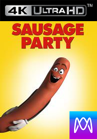 Sausage Party - Vudu 4K or iTunes 4K via MA (Digital Code)